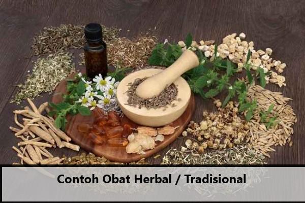 Contoh Obat Herbal